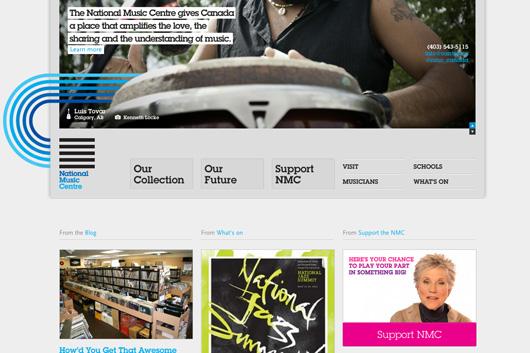 National Music Centre website