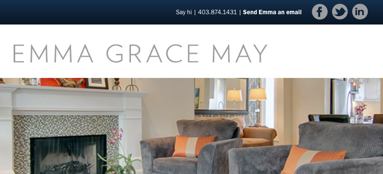 emma grace may realtor website