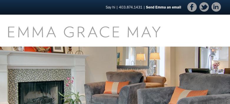 emma grace may realtor website