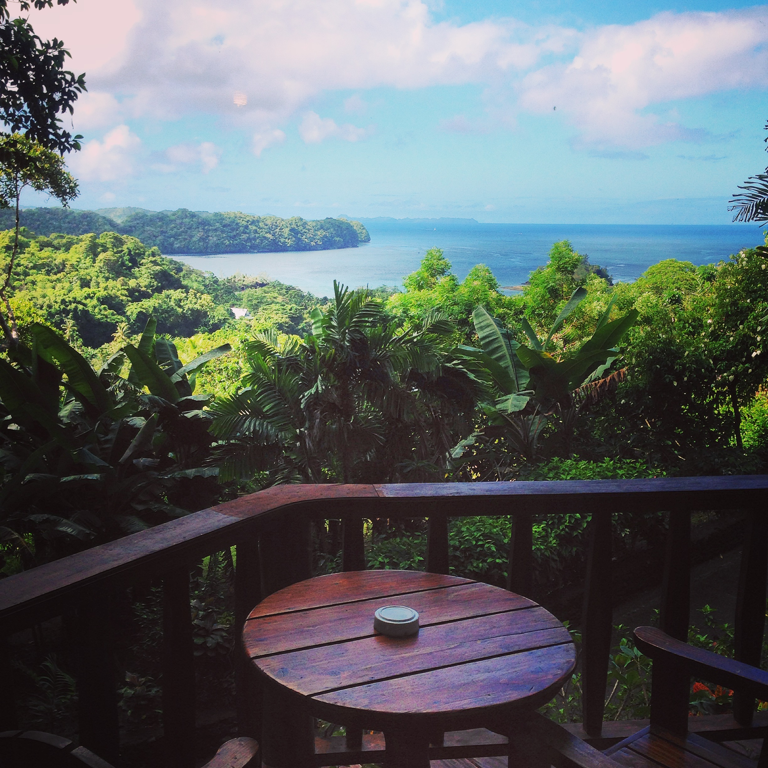 Travel hacking to have breakfast in Palau