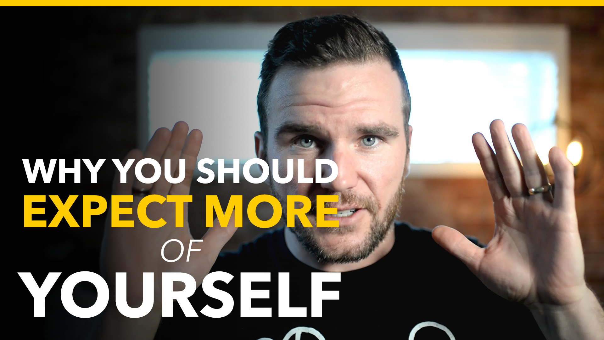 expect more of yourself - brad hussey